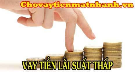 Mượn tiền gấp lãi suất thấp nhất