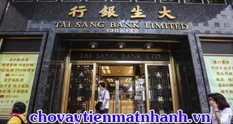 Ngân hàng cho vay ở Hong Kong chỉ 30 nhân viên làm việc