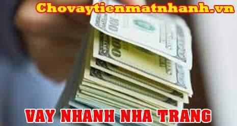 Vay tiền nhanh góp đứng ở Nha Trang