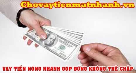 Vay tiền đứng có tiền nhanh trong ngày