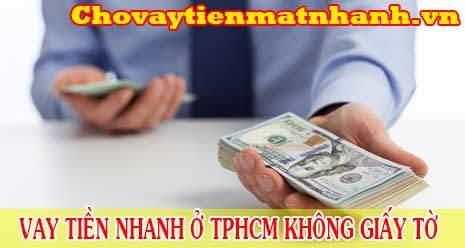Vay tiền nhanh không gặp mặt thẩm định online