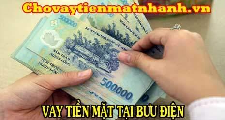 Vay tiền nhanh trong ngày ở Bưu Điện không giữ giấy tờ