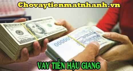 Vay tiền Hậu Giang