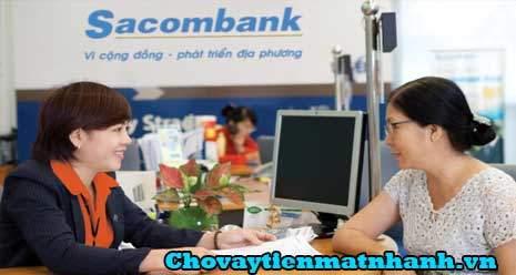 Vay tín chấp ngân hàng Sacombank