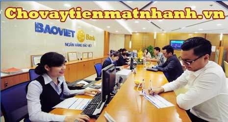 Vay tín chấp ngân hàng Bảo Việt