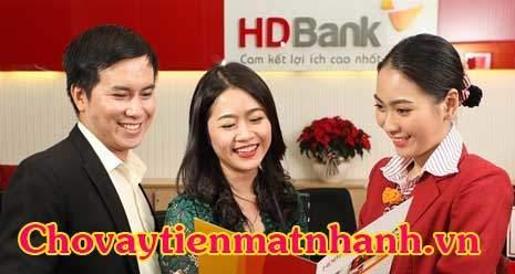 Vay tín chấp ngân hàng HDBank