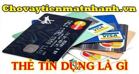 Thẻ tín dụng là gì