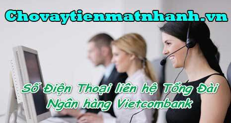 số điện thoại vietcombank