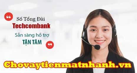 Số hotline tổng đài Techcombank