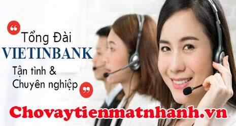 Tổng đài chăm sóc khách hàng Vietinbank