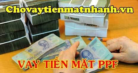 Vay tiền mặt PPF