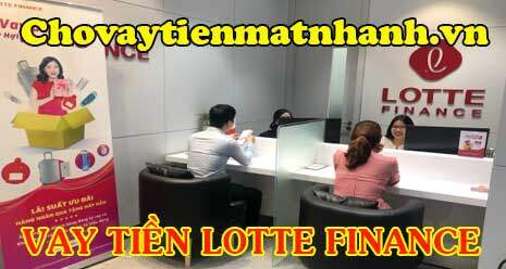 Vay tiền Lotte Finance