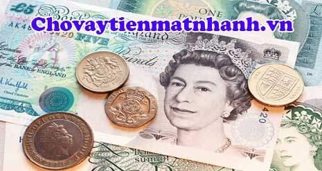 Đơn vị tiền tệ nước Anh cho lưu hành tiền giấy lẫn tiền xu
