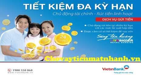 Gửi tiết kiệm Vietinbank lãi suất lên đến 7,2%/năm