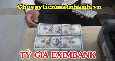 Tỷ giá Eximbank hôm nay