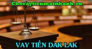 Vay tiền Dak Lak