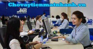 Vay tín chấp ngân hàng Quân Đội MB Bank