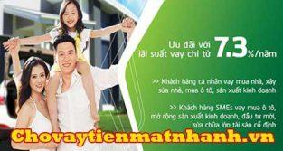 Lãi suất vay ngân hàng Vietcombank
